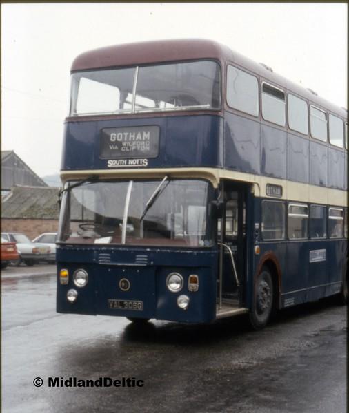South Notts 91, Gotham Depot, 30-03-1991