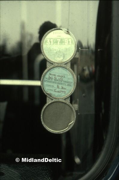 South Notts 129, Gotham Depot, 30-03-1991