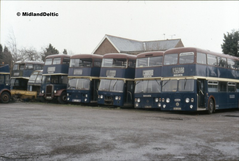 South Notts, Gotham Depot, 30-03-1991