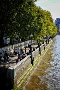Thames riverside, London