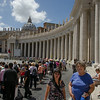 Rome: St Peters Square and Basilica; Mum; Somsri