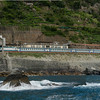 Italy:  Cinque Terre Rail northbound to Monterosso
