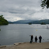 England; Lake District, View over Lake Windemere from Windemere Landing