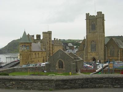 Aberystwyth Castle and Gardens