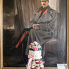 The cake, guarded by Lord Lucan???