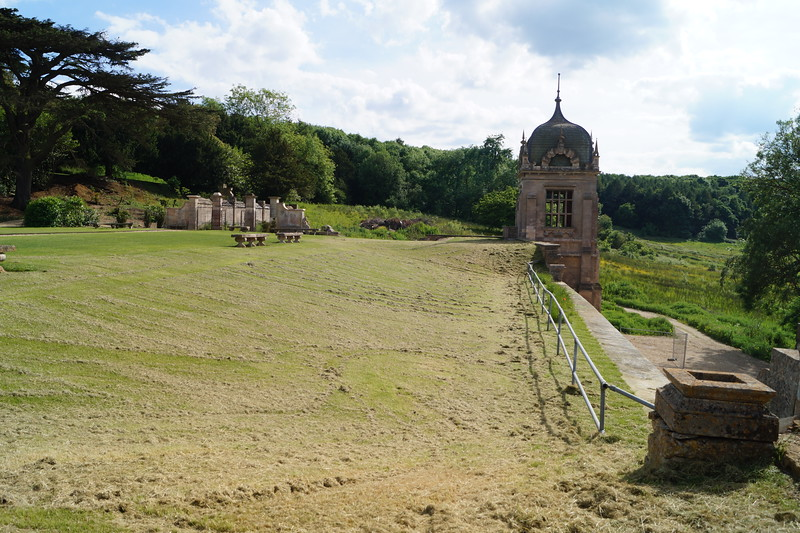 The next several photos are all of the Harlaxton gardens.