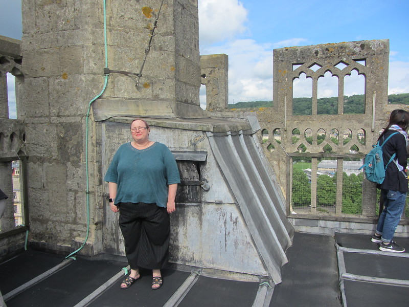 Proof that I made it to the top of the tower.
