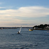 View from a chain ferry we took from Swannage over to Poole and Sandbanks - very ritzy part of UK