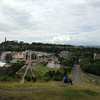 Vince and Cam did this hike above Edinburgh to Arthur's Seat