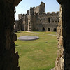 Carnarvon Castle - the Prince of Wales is actually crowned on that round platform