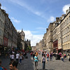The royal mile in Edinburgh...links 2 palaces