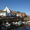 the harbour in Crail, still on Fife Coast