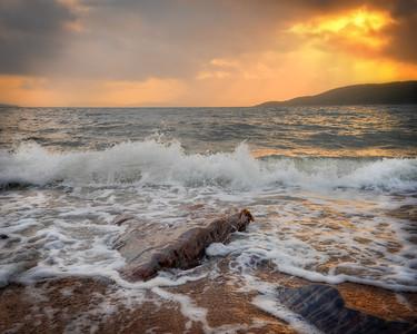 Sunset over Ardmurcknish Bay