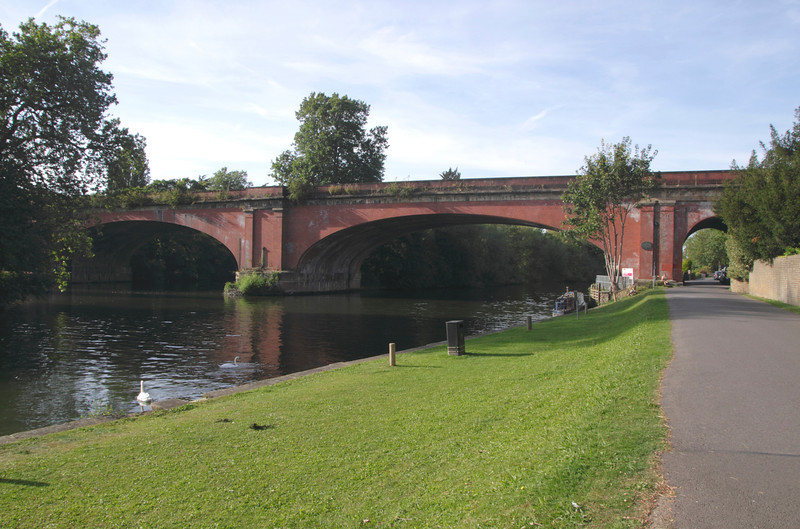 Brunel railway bridge Maidenhead Berkshire
