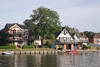 Maidenhead Rowing Club by River Thames Berkshire