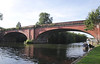 Brunel railway bridge Maidenhead Berkshire
