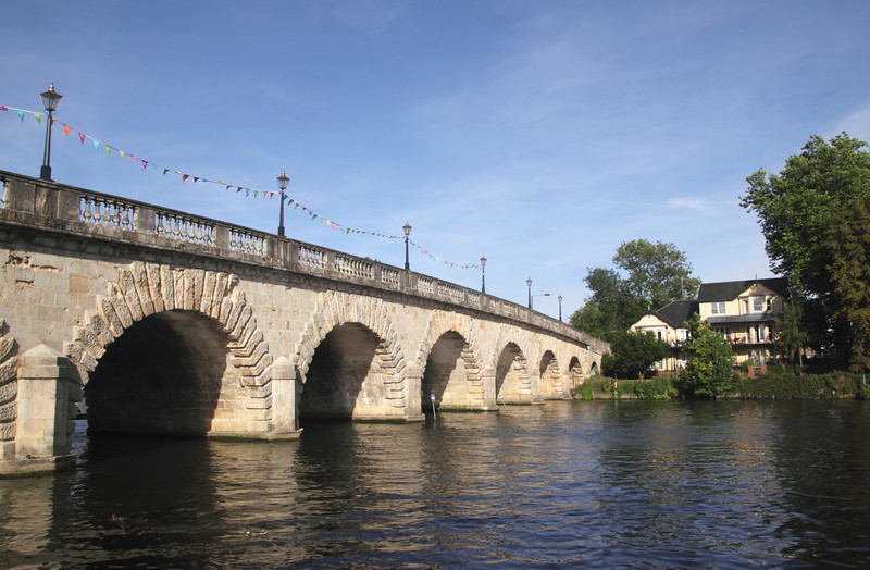 Maidenhead Bridge over River Thames Berkshire