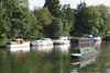 River Thames near Boulter's Lock Maidenhead Berkshire