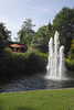 Fountain at Ray Mill Island Maidenhead Berkshire