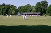 Playing cricket at Marlow Buckinghamshire