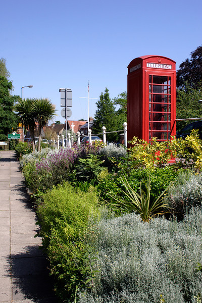 Public Telephone Box at Marlow Buckinghamshire