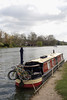 Houseboat on River Thames Marlow