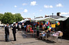 Stalls at Hosier Street Market Reading Berkshire