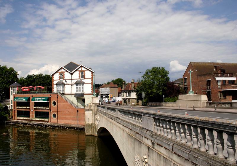 Caversham Bridge Reading June 2008