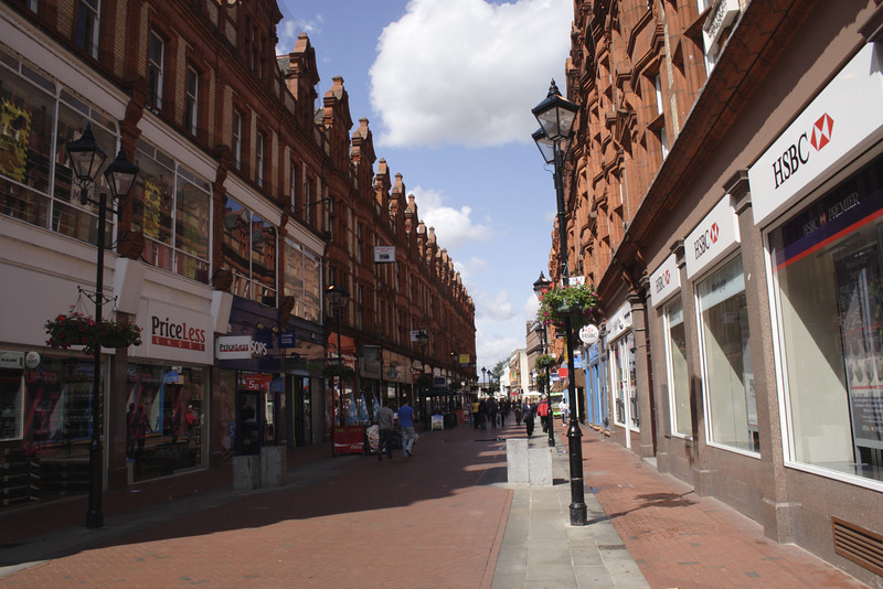 Queen Victoria Street Reading Berkshire