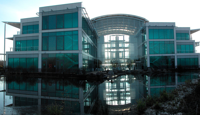 Office building at Thames Valley Business Park Reading