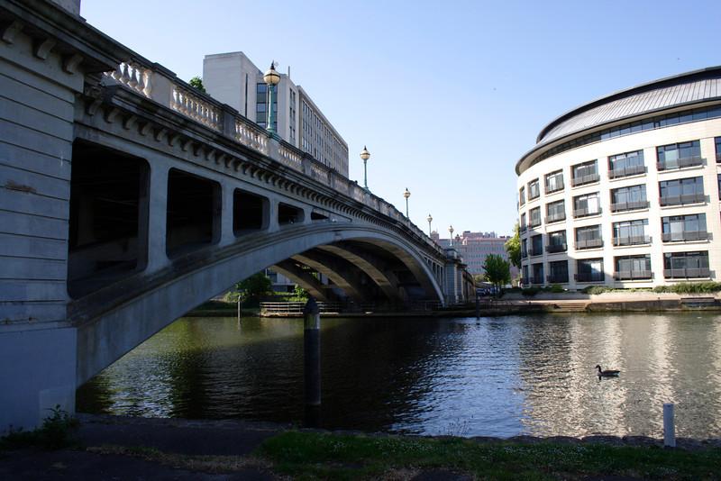 Bridge at Kings Meadow Reading Berkshire