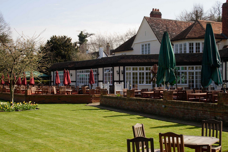Ferrymans bar and restaurant at the Great House Hotel Sonning Berkshire