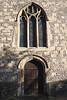 Door at Sonning Church Berkshire