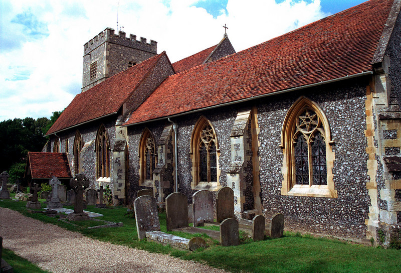 St Andrew's Church at Sonning Berkshire