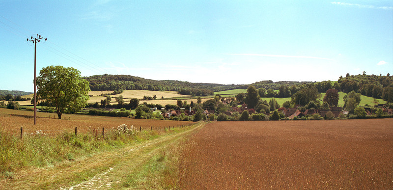 Countryside at Turville Buckinghamshire England