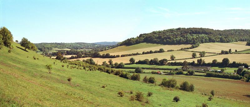 Chiltern Hills near Turville Buckinghamshire England
