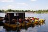 Boats on River Thames Windsor
