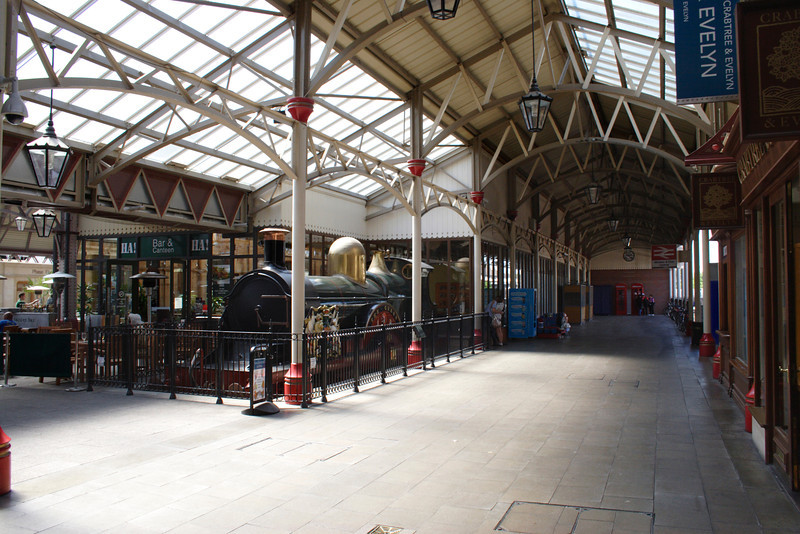 The Queen steam locomotive at Windsor Royal Station