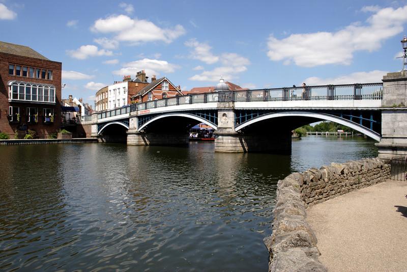 Bridge between Eton and Windsor