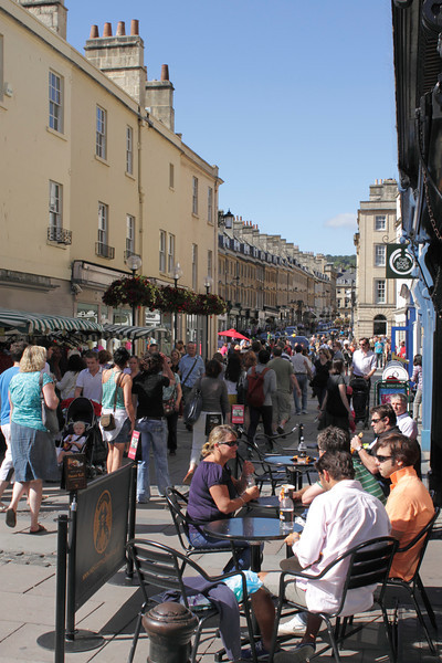 Burton Street Bath and West Cornwall Pasty Co cafe summer 2011