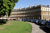 The Circus crescent buildings Bath