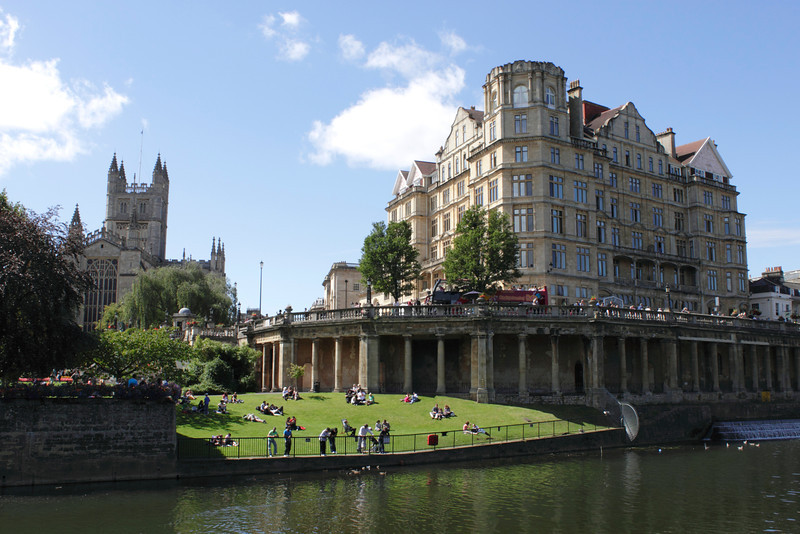 River Avon and Guildhall Bath