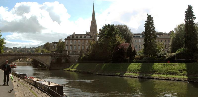 River Avon at Bath Somerset