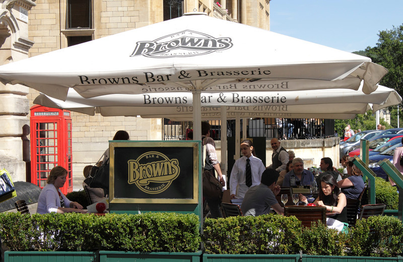 Browns Bar and Brasserie at Bath Somerset