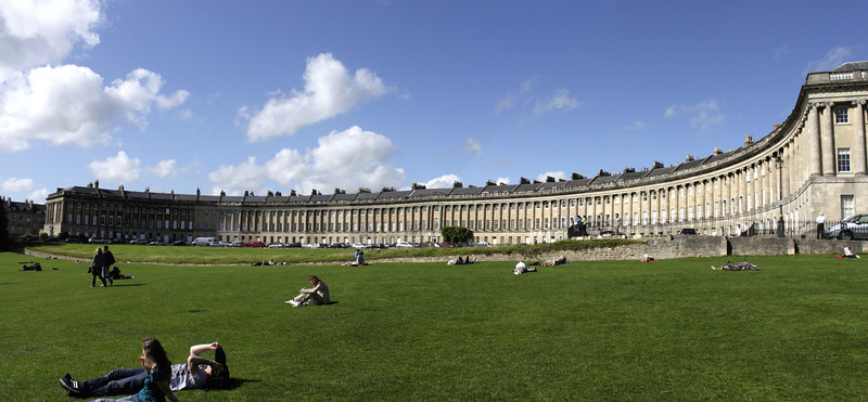 Royal Crescent Bath Somerset