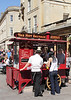 Hot dog Stall, Stall Street Bath, Somerset,
