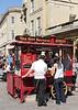 Hot dog Stall, Stall Street Bath, Somerset,