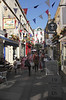 Cafes and shops at Northumberland Place Bath Somerset