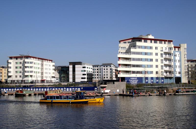 Harbourside apartments Bristol docks area