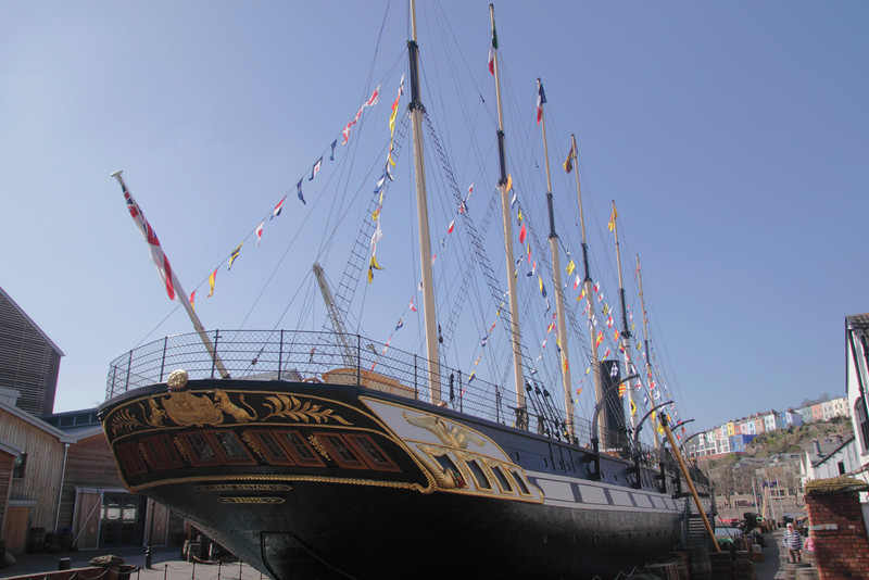 SS Great Britain at Bristol Docks